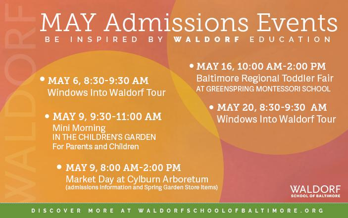 May Admissions Events
